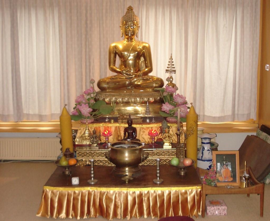 Boeddhistisch altaar