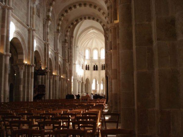 Basiliek Sainte-Marie-Madeleine in Vézelay
