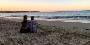 Liefde aan het strand